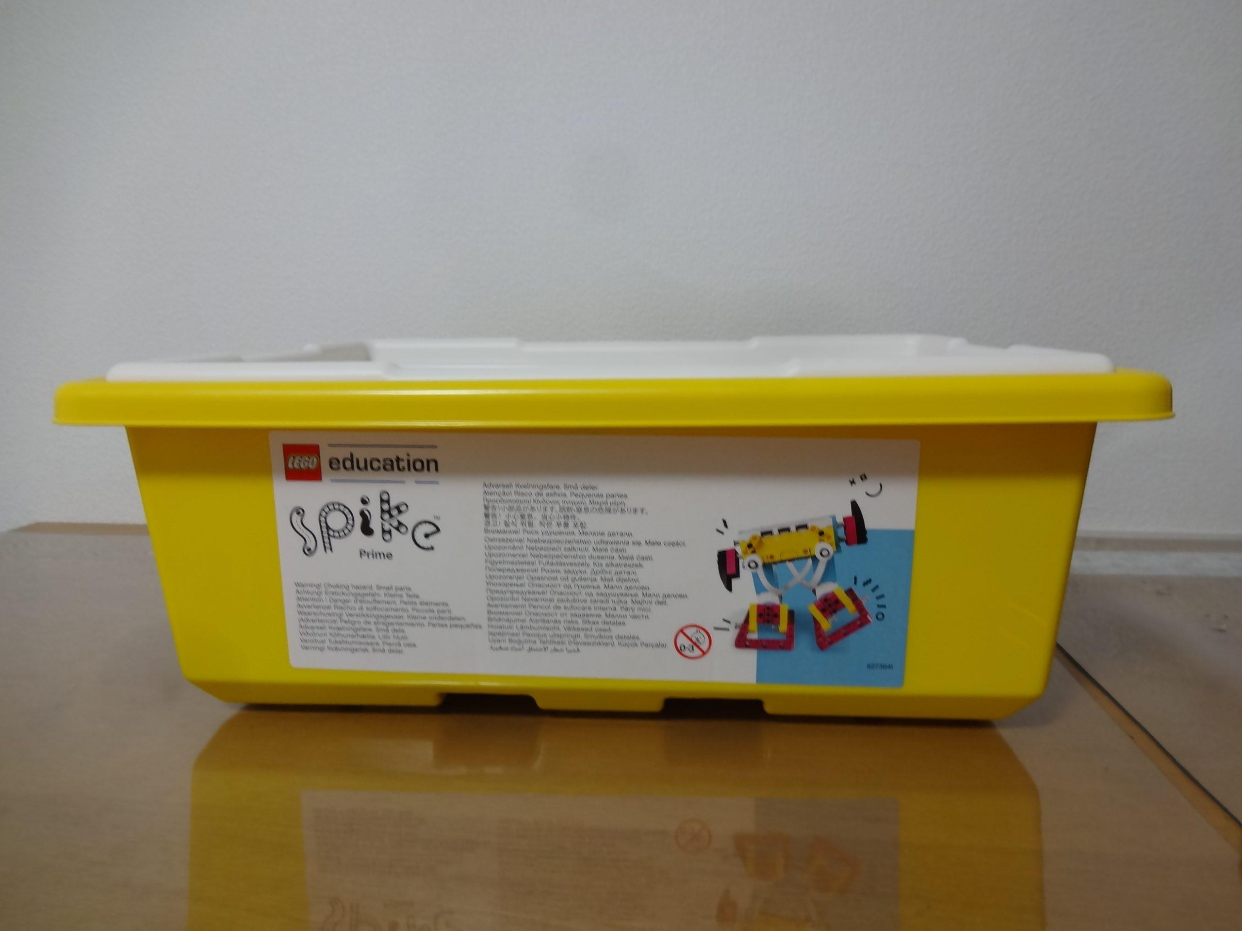 【#1】LEGO SPIKE™ プライムを開封してみよう